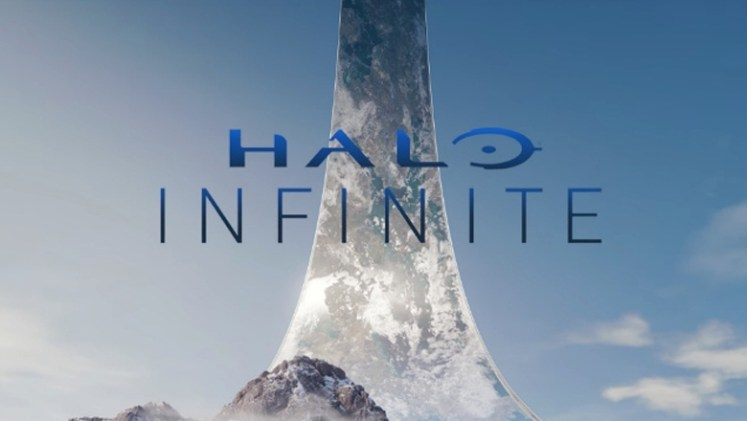 Halo Infinite title card reveal