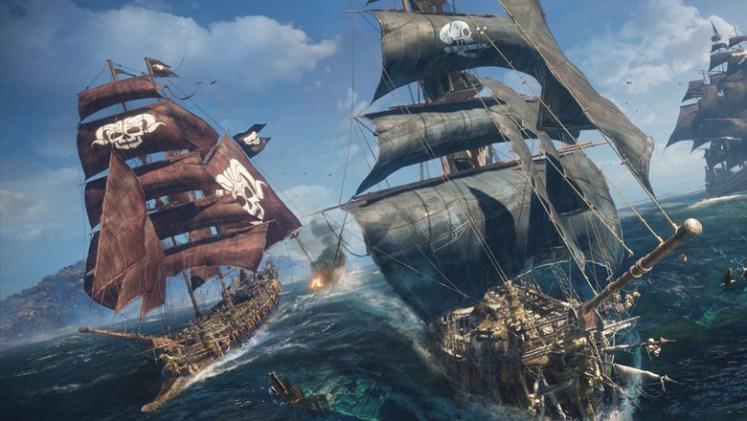 Skull & Bones ship combat