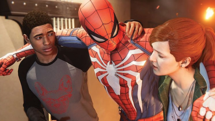 Spider-Man Review MJ and Miles