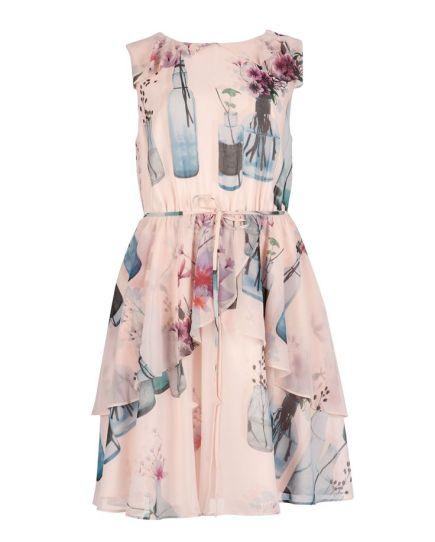 Chelsie Water bottle print dress £139 from Ted Baker