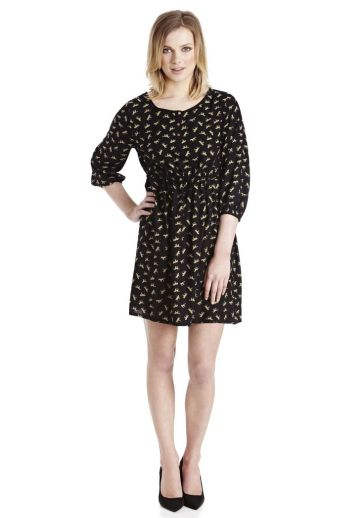 Horse Print Tie Waist Dress £16 from Florence and Fred at Tesco