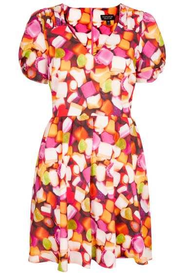 Sweetie Print Tea Dress 46 from Topshop