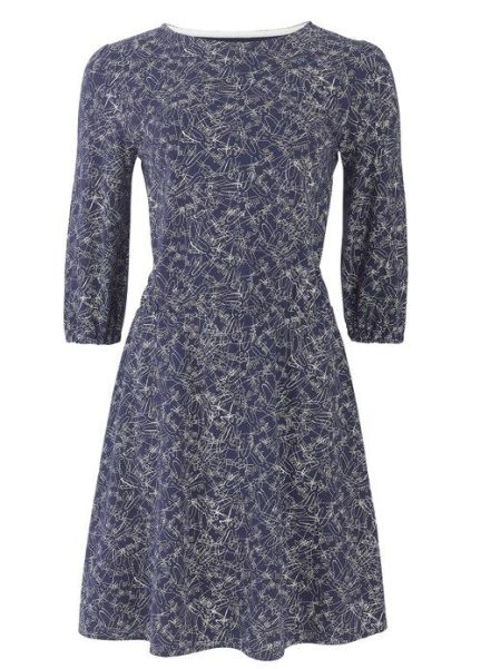 Navy Peter Jensen Rabbit Dress £54.50 (Was £68) from People Tree