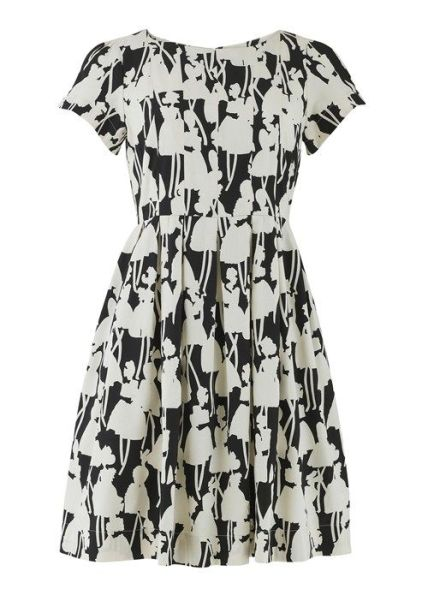 Monochrome Tea Dress £110 from Orla Kiely People Tree