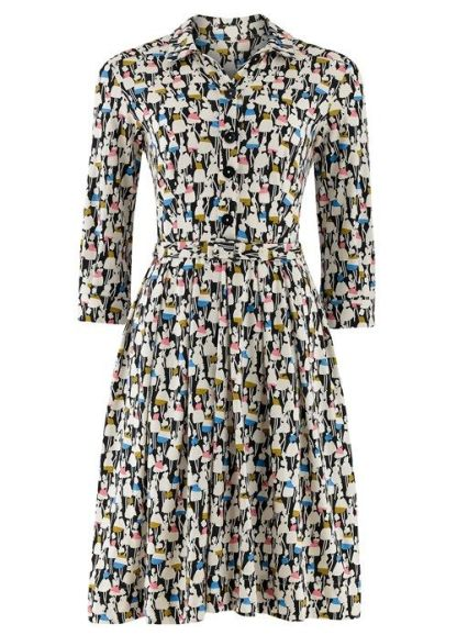 Shirt Dress in Multi £90 from Orla Kiely for People Tree
