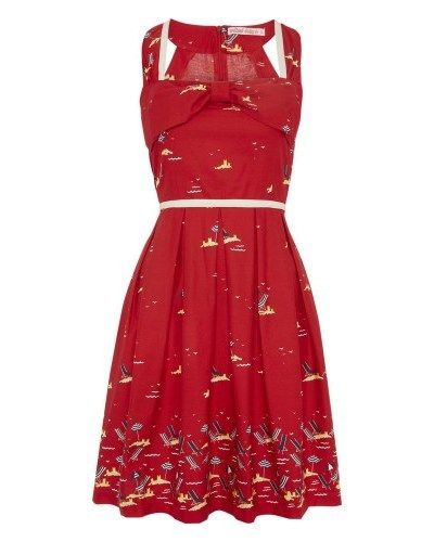 Rock n Rollers Dress in Red Deckchairs £55 from Trollied Dolly