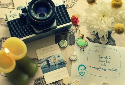 Company Magazine Style Blogger Awards 2014