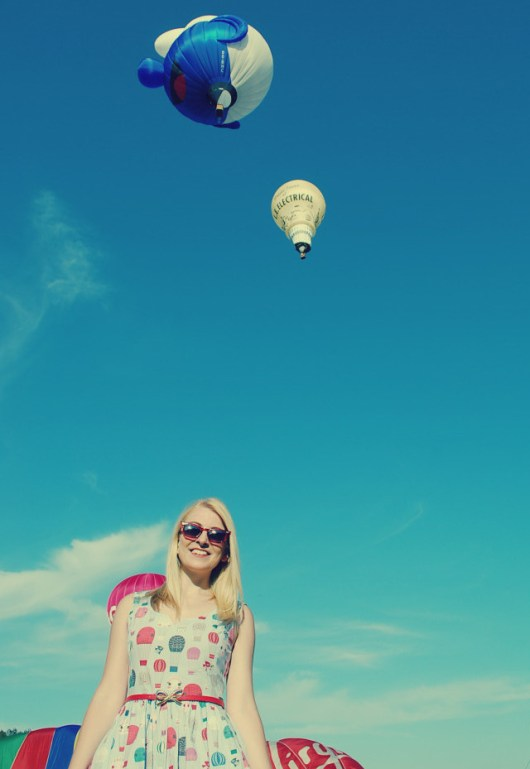 She and Hem |Bristol Balloon Fiesta 2014