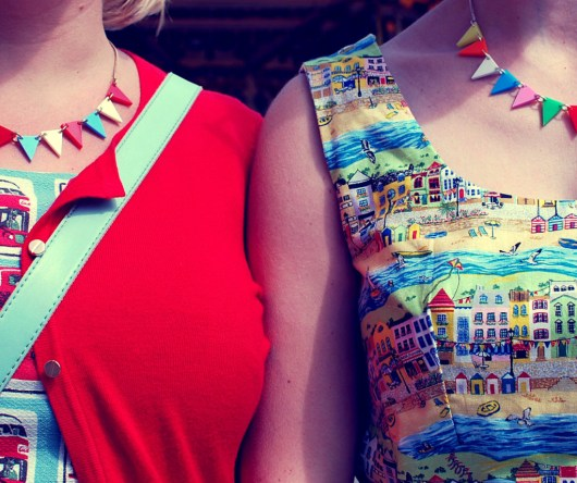 Bunting necklaces from Tatty Devine
