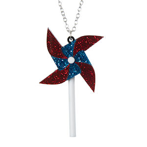 Pinwheel necklace £15 from Sugar and Vice