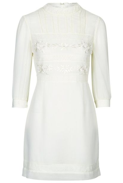 Victoriana Lace Dress £46 from Topshop