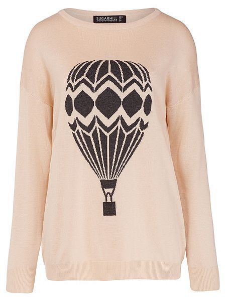 Lena Hot Air Balloon Slouchy Sweater £42 from Sugarhill Boutique at House of Fraser