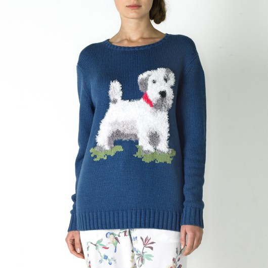 Billie Fluffy Knitted Jumper £75 from Cath Kidston