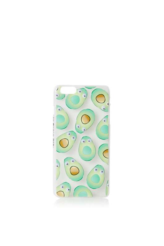 Accessories to Murder #20 | She and Hem | Avocado Phone Case Skinnydip