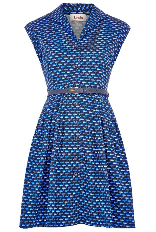 Rajaa Whale Print Dress £49 from Louche