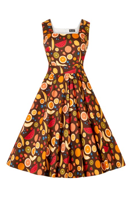 Tutti Fruity Eliza Dress £45 from Lady Vintage