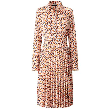 Printed Pleated Dress £69 from La Redoute