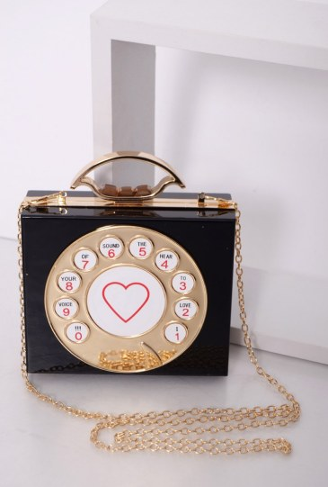 Black Telephone Dial Bag £20 from Rare