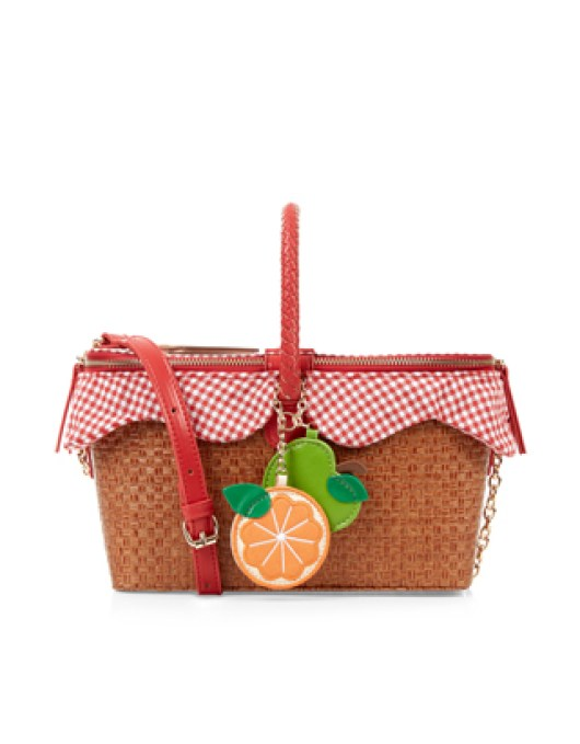 Accessories to Murder | She and Hem | Novelty Picnic Basket Bag