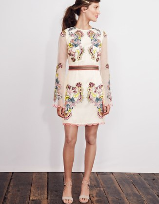 Evelyn Embroidered Dress £250 from Boden