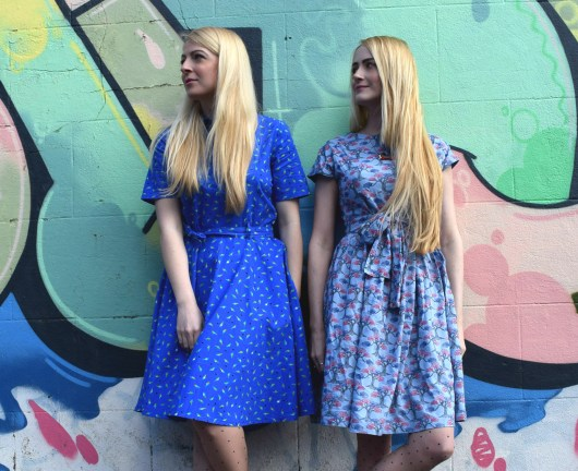 Jo and Victoria Hit the Road | She and Hem | Circus Dresses Carousel