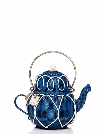 Down The Rabbit Hole Wicker Teapot £358 from Kate Spade
