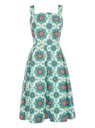 Multicoloured Tile Print Sundress £22.00 from TU at Sainsburys