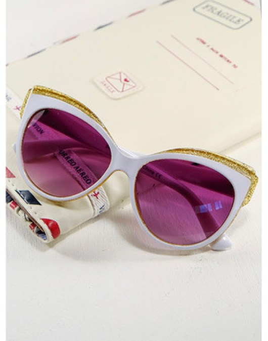Glitter Cat Eye Sunglasses | £12.99 | Aspire Style