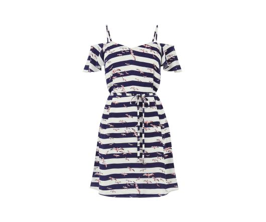 She and Hem | Striped Bird Dress £36 from Oasis