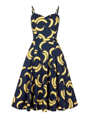 She and Hem | Banana Print Dress £44.50 by Aida Zak Simona from Collectif