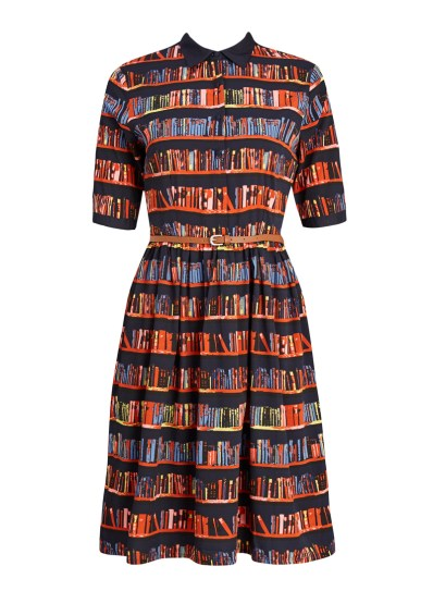 Martha Library Book Print Dress £35 from Joanie