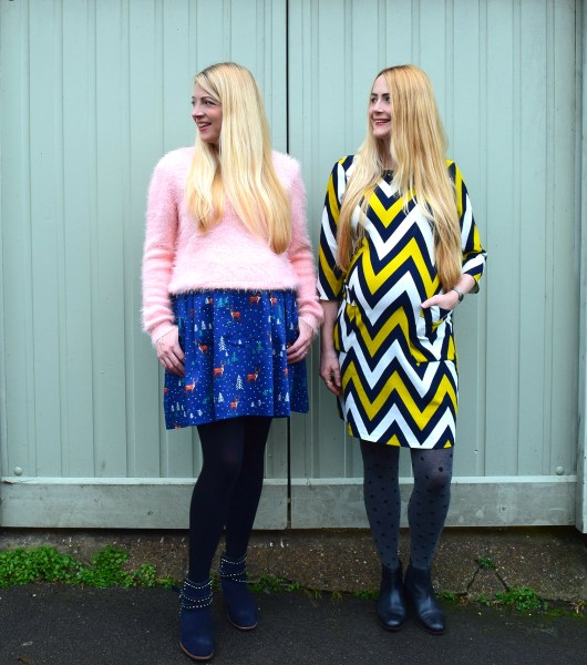Chevron Stripes and Snow Scenes | She and Hem | Aspire Style