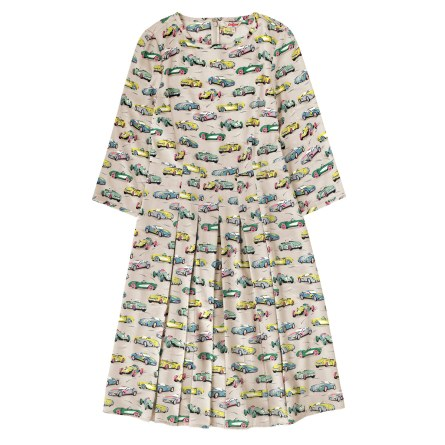 Fast Cars Pleated Dress £75 from Cath Kidston