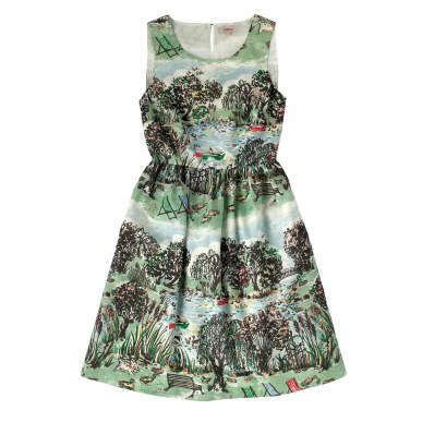 LONDON PARK SLEEVELESS COTTON DRESS £60 from Cath Kidston