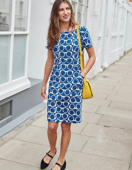 Angela Textured Dress £48 (was £80) from Boden | She and Hem | Double Thumbs Dresses #92