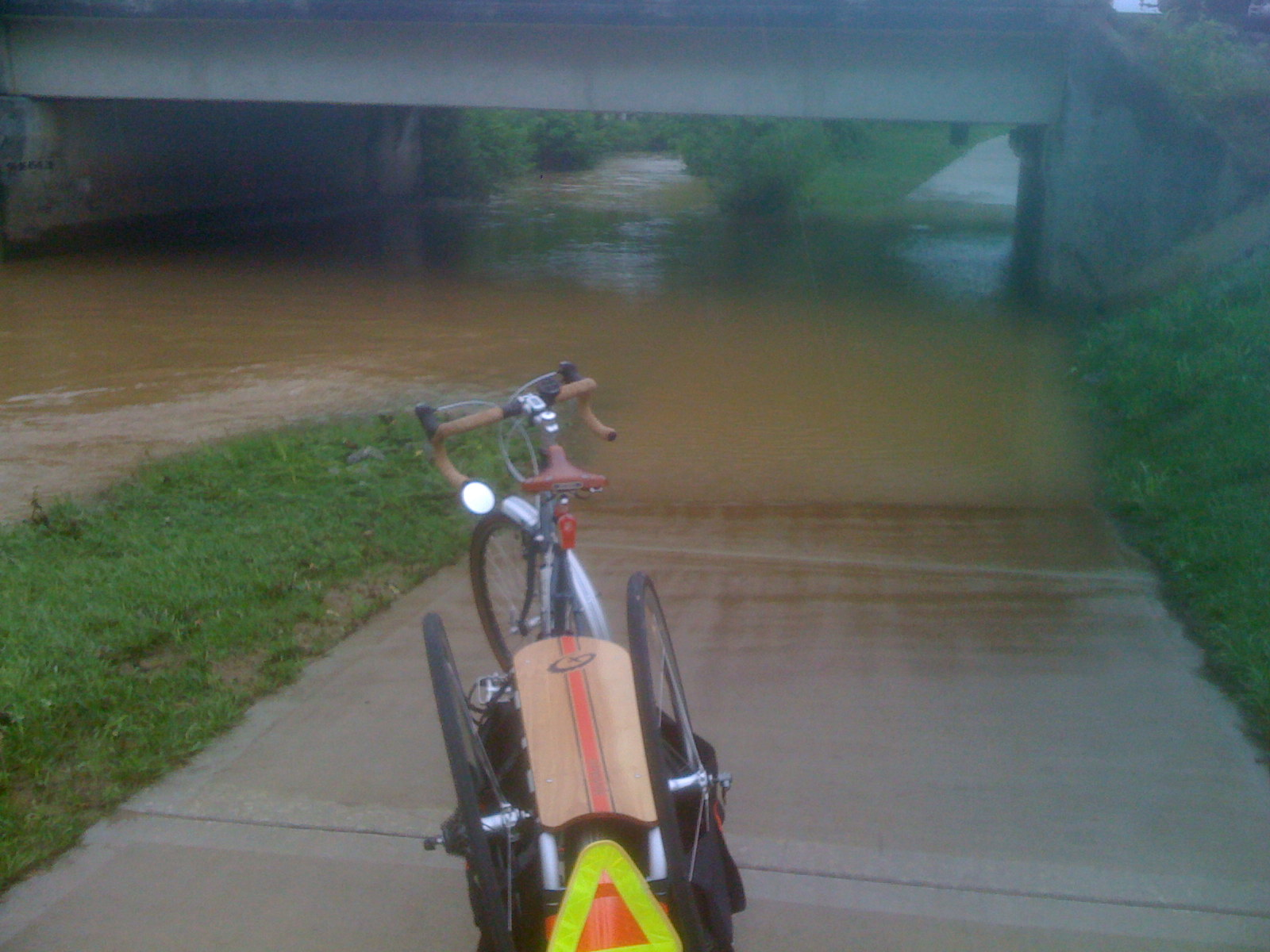 Cleveland, TN, Greenway/Bike Path - after the rain