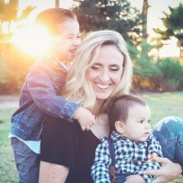 birth affirmations for babyboy mom with her two boys