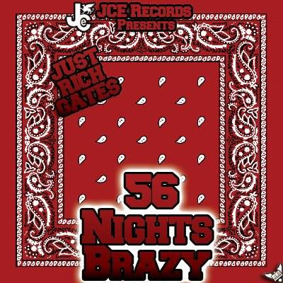 56 Nights Brazy Cover