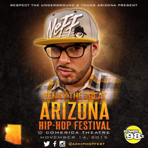 Rapper Penny The Great Talks Being Part Of The AZ Hiphop Festival