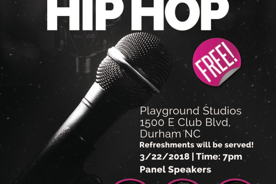 Event: Why Technology Matters In Hip Hop (Durham, NC)