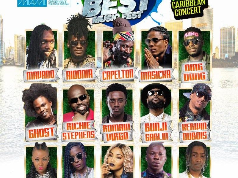Event: 12th Annual Best of the Best Music Fest (Miami, FL)