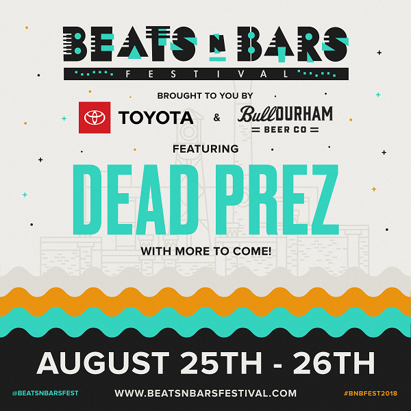 Event: Beats n Bars Festival Returns August 25-26  @beatsnbarsfest