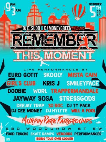 "Event: ""Remember This Moment"" by DJ E Sudd and DJ MoneyGreen"