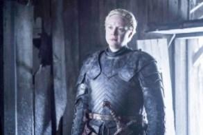 Gwendoline Christie as Brienne of Tarth. Photo: Helen Sloan/HBO