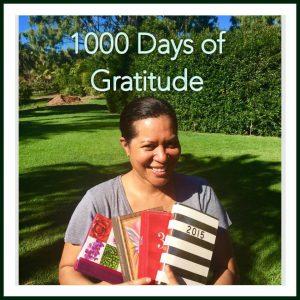Anna reaches a milestone – 1000 days of gratitude