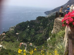Breathtaking views in Ravello