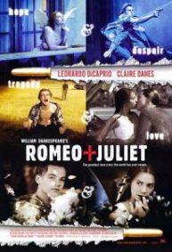Baz Luhrmann's Romeo + Juliet movie poster