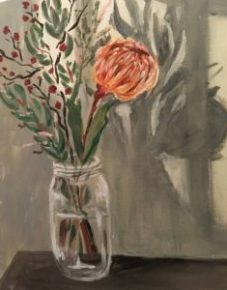 Try your hand at painting florals. No talent required!