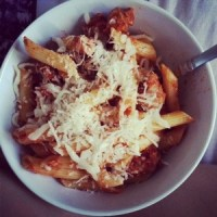 Spicy Turkey Sausage Penne