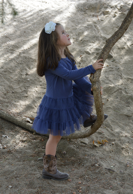 Girl lin Monarch Preschool program